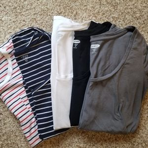 Maternity SS Tops- Lot of 5